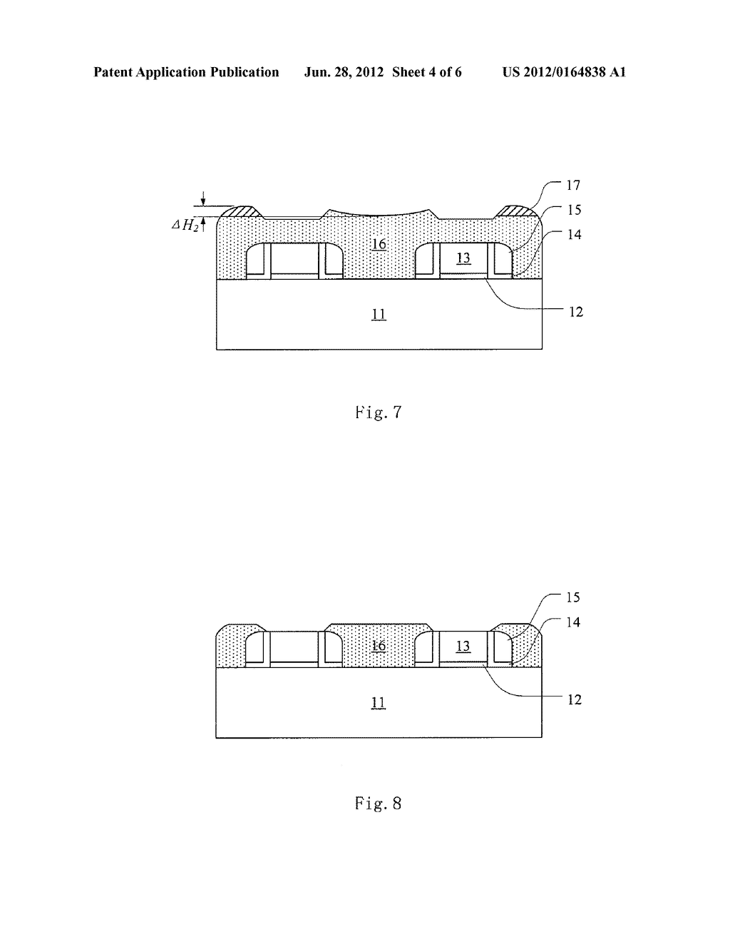 METHOD FOR PLANARIZING INTERLAYER DIELECTRIC LAYER - diagram, schematic, and image 05