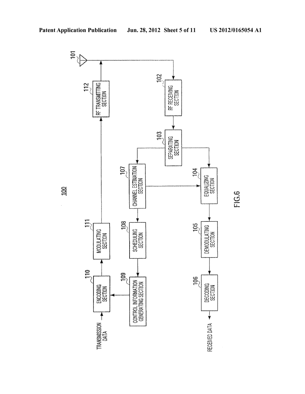INTEGRATED CIRCUIT FOR CONTROLLING SEQUENCE ASSIGNING METHOD AND REFERENCE     SIGNAL GENERATING METHOD - diagram, schematic, and image 06