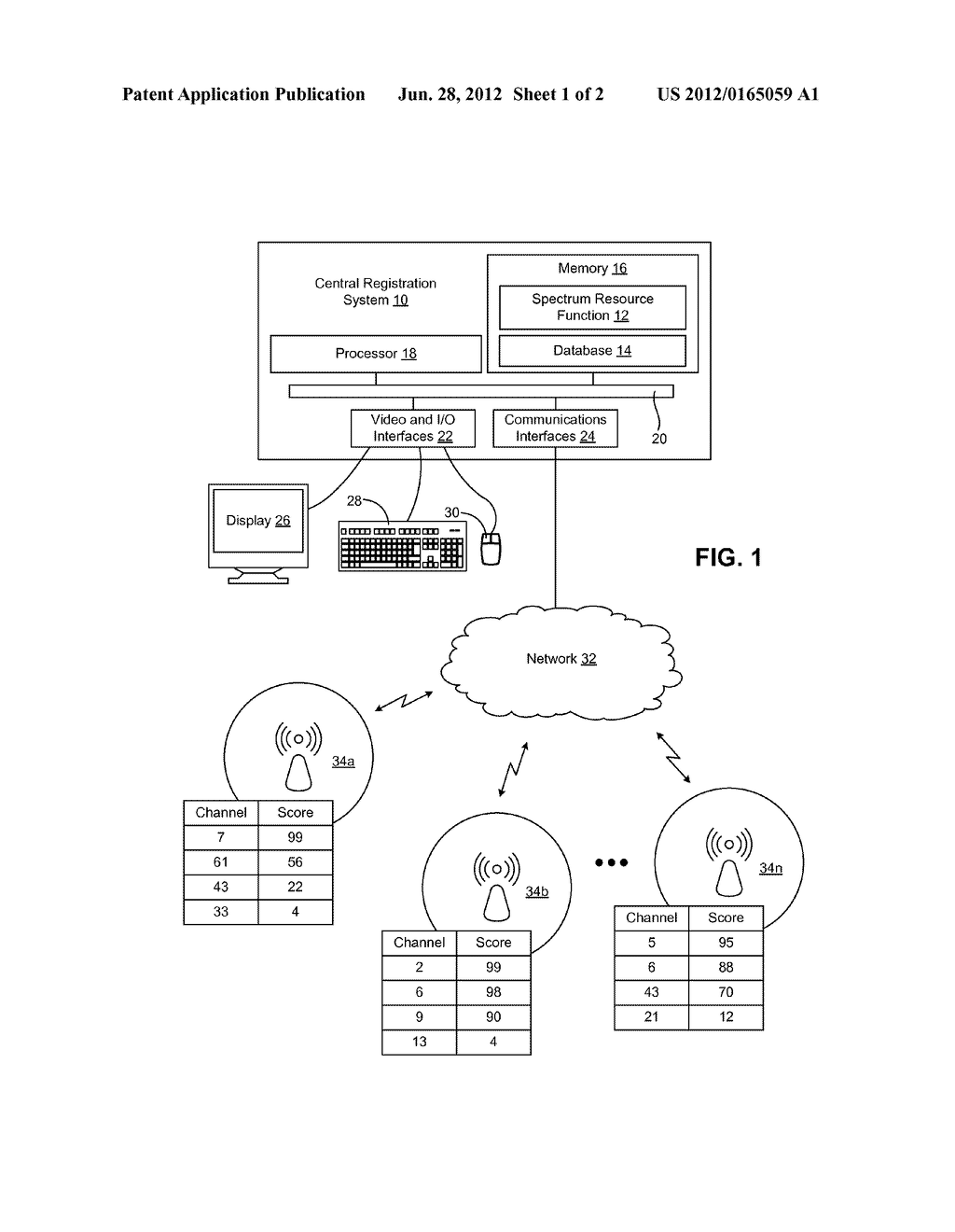 SYSTEM AND METHOD FOR MANAGING SPECTRUM RESOURCES - diagram, schematic, and image 02