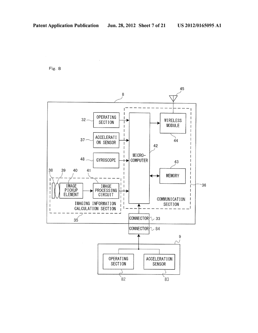 GAME SYSTEM, GAME APPARATUS, STORAGE MEDIUM HAVING GAME PROGRAM STORED     THEREIN, AND GAME PROCESS METHOD - diagram, schematic, and image 08