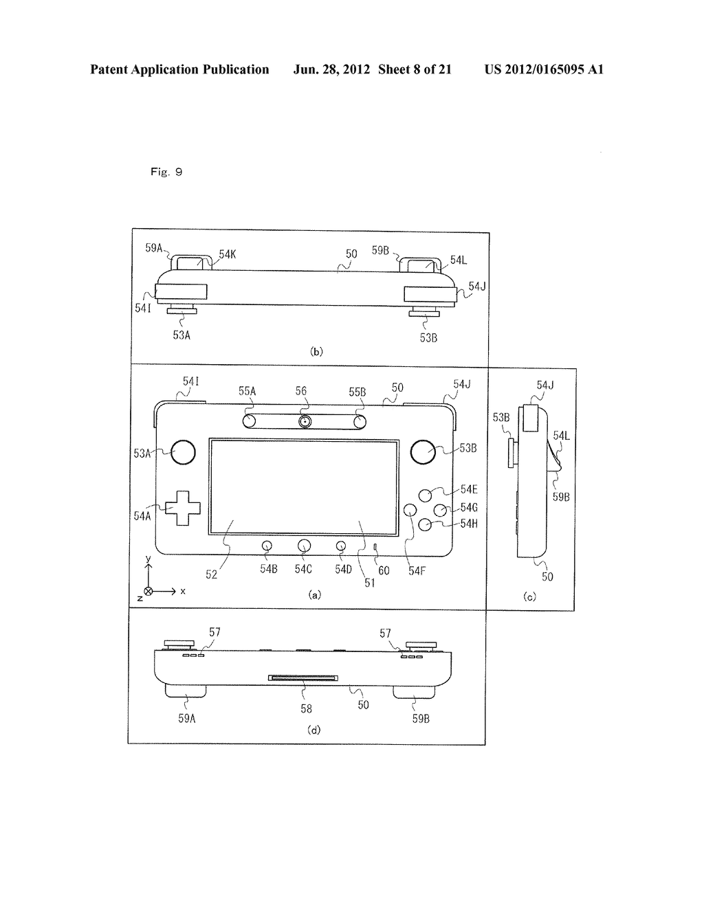 GAME SYSTEM, GAME APPARATUS, STORAGE MEDIUM HAVING GAME PROGRAM STORED     THEREIN, AND GAME PROCESS METHOD - diagram, schematic, and image 09