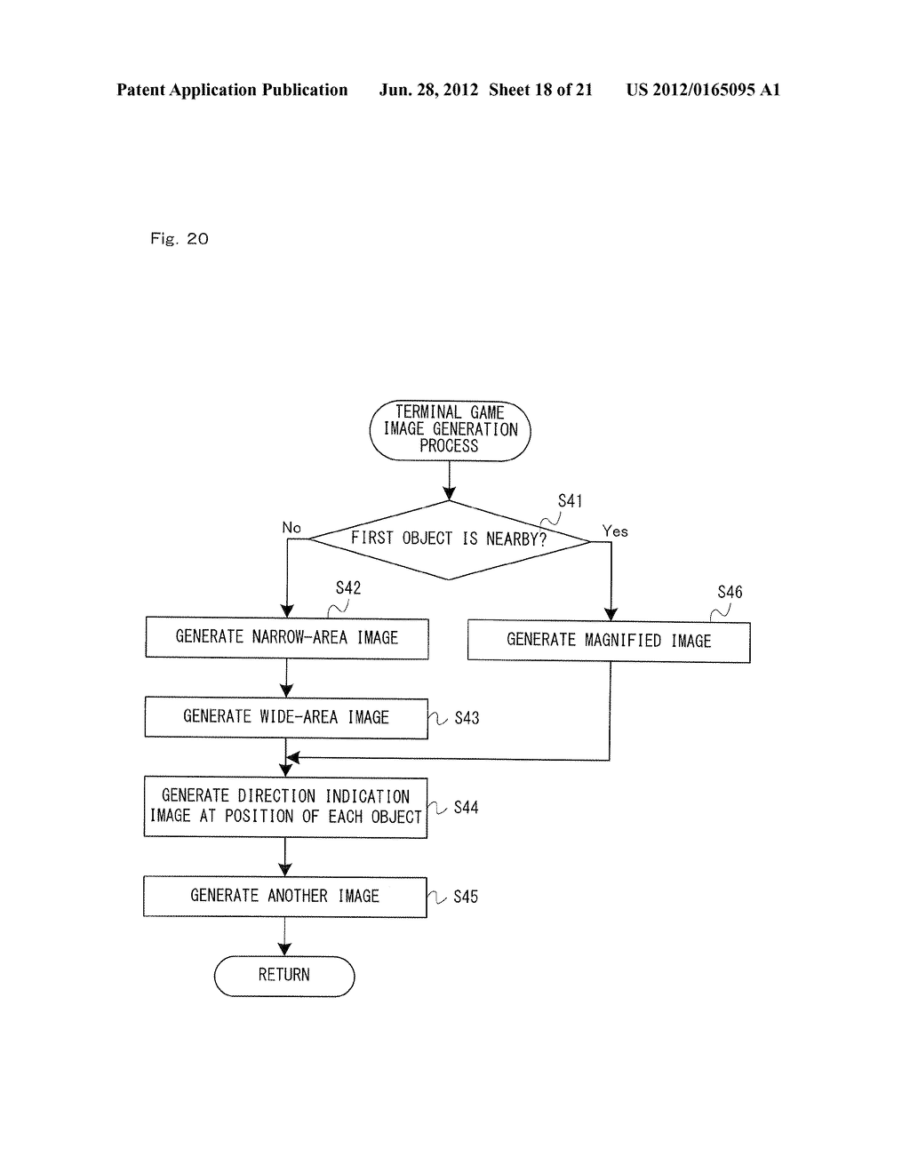 GAME SYSTEM, GAME APPARATUS, STORAGE MEDIUM HAVING GAME PROGRAM STORED     THEREIN, AND GAME PROCESS METHOD - diagram, schematic, and image 19