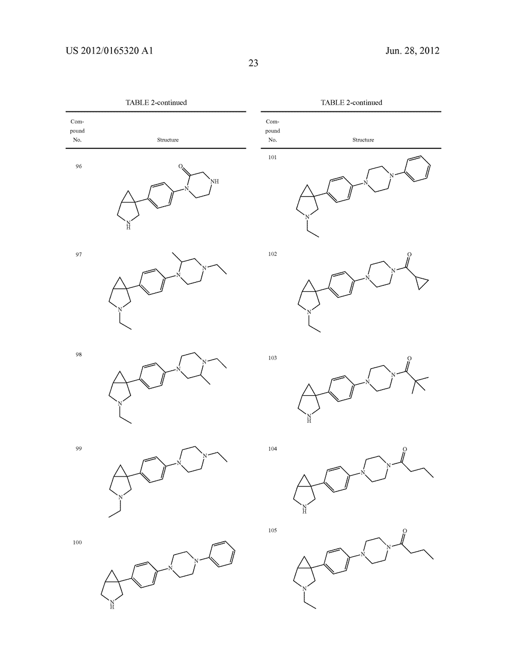 NOVEL AZABICYCLOHEXANES - diagram, schematic, and image 24