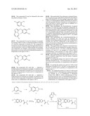 DERIVATIVES OF 6-(6-SUBSTITUTED-TRIAZOLOPYRIDAZINE-SULFANYL) 5-FLUORO     BENZOTHIAZOLES AND 5-FLUORO BENZIMIDAZOLES, PREPARATION THEREOF, USE     THEREOF AS DRUGS, AND USE THEREOF AS MET INHIBITORS diagram and image