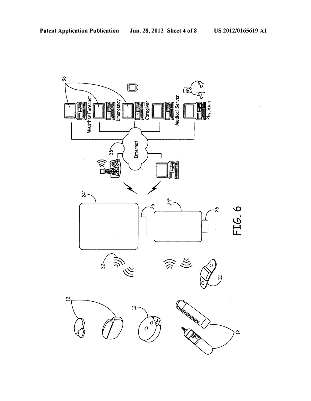 STAND ALONE MEDICAL COMMUNICATION MODULE USED WITH A HOST DEVICE - diagram, schematic, and image 05