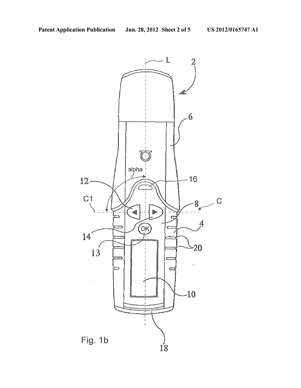 Pen-Type Injector With Ergonomic Button Arrangement - diagram, schematic, and image 03