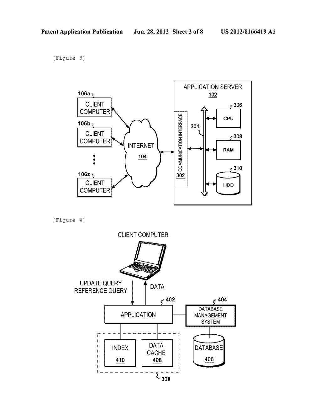 METHOD, SYSTEM AND PROGRAM FOR CACHE CONTROL IN DATABASE - diagram, schematic, and image 04