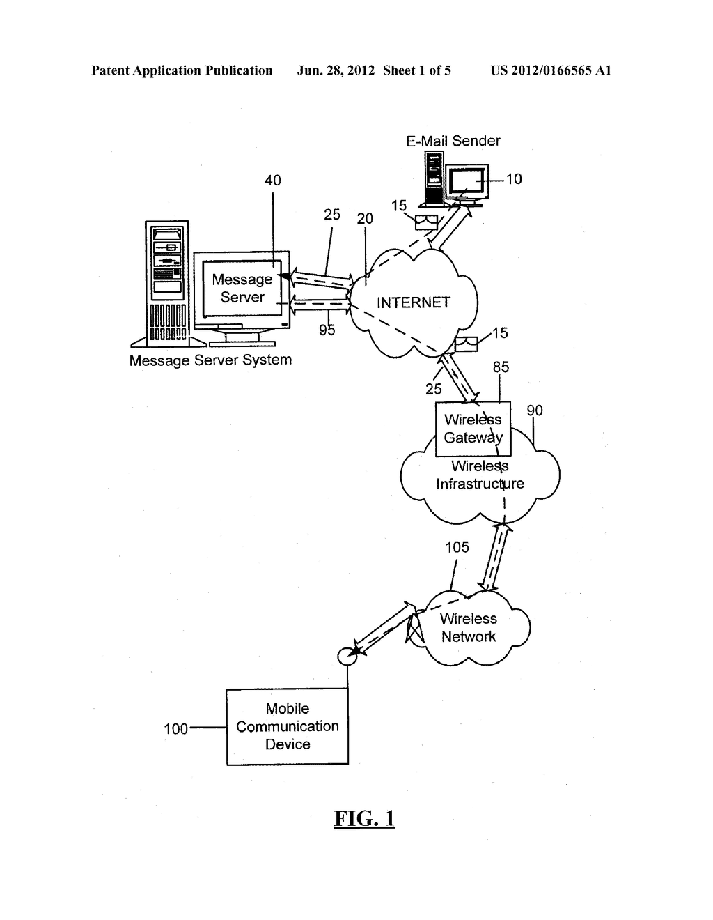 SYSTEM AND METHOD FOR ACKNOWLEDGING CALENDAR APPOINTMENTS USING A MOBILE     DEVICE - diagram, schematic, and image 02