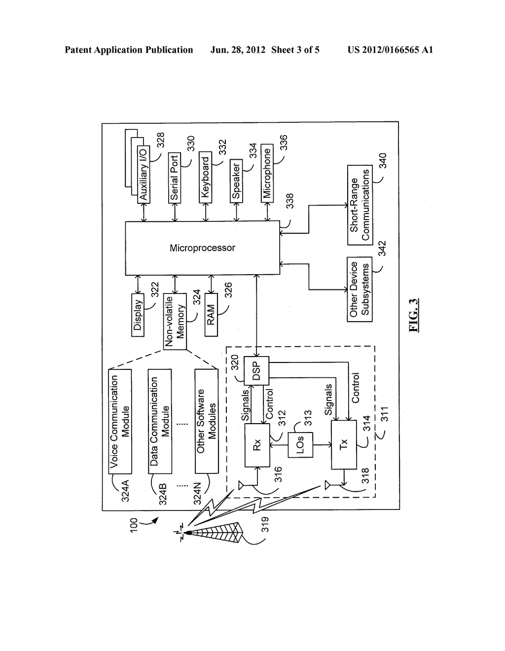 SYSTEM AND METHOD FOR ACKNOWLEDGING CALENDAR APPOINTMENTS USING A MOBILE     DEVICE - diagram, schematic, and image 04