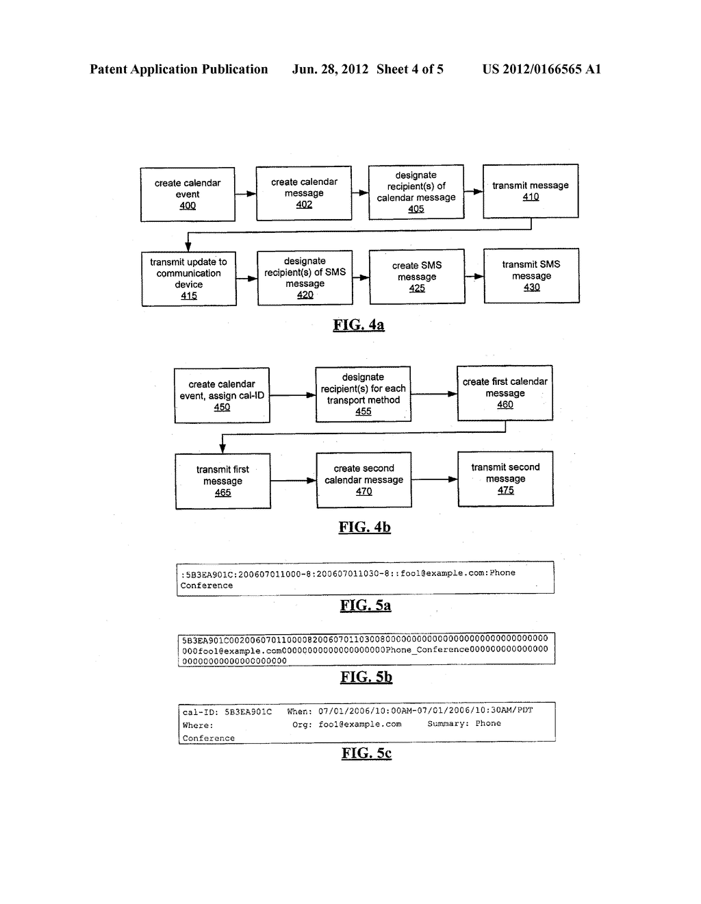 SYSTEM AND METHOD FOR ACKNOWLEDGING CALENDAR APPOINTMENTS USING A MOBILE     DEVICE - diagram, schematic, and image 05