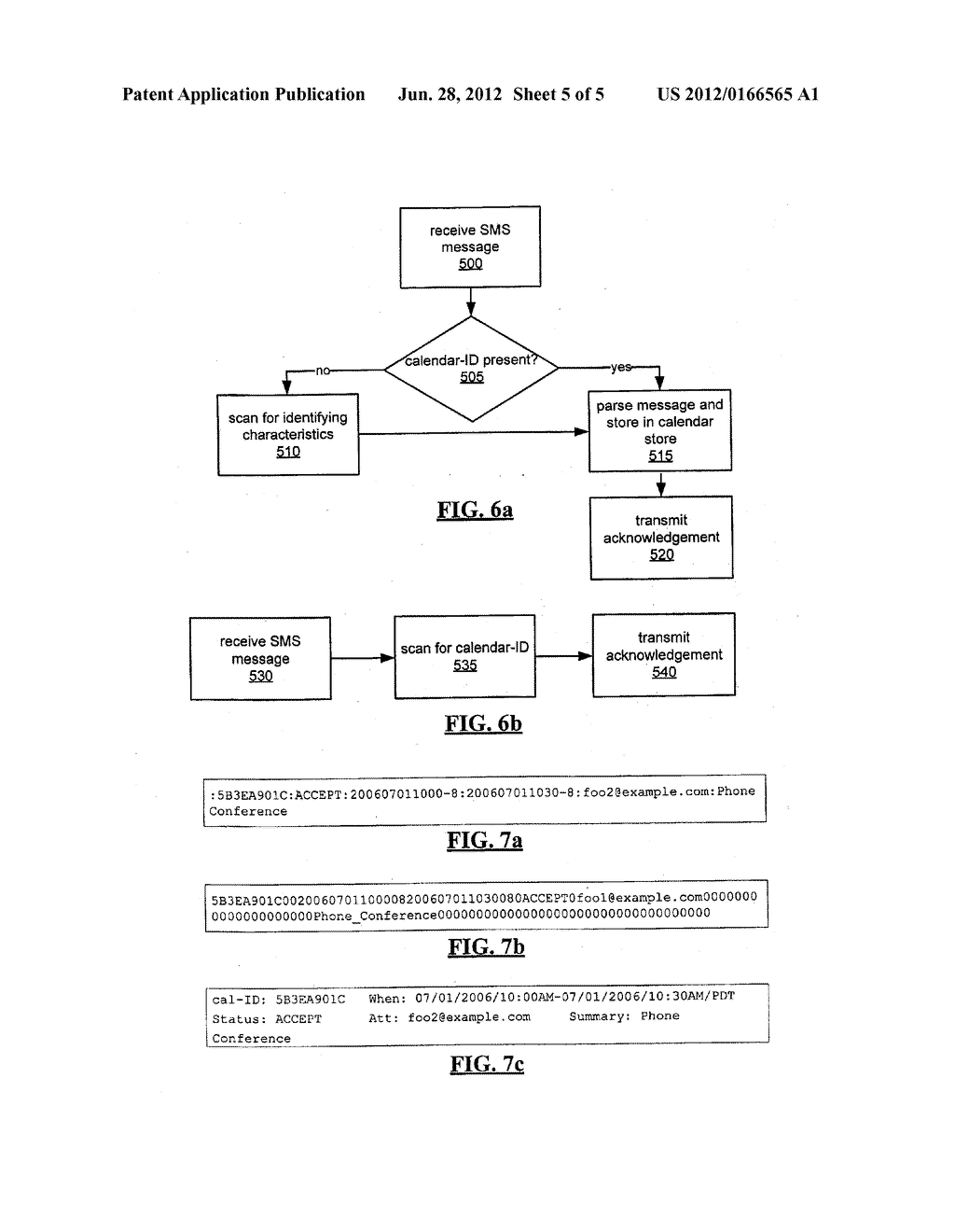 SYSTEM AND METHOD FOR ACKNOWLEDGING CALENDAR APPOINTMENTS USING A MOBILE     DEVICE - diagram, schematic, and image 06