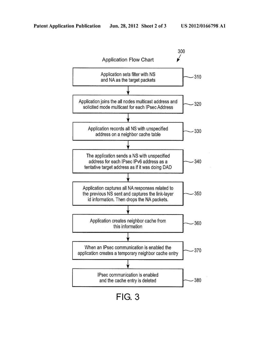 METHOD AND SYSTEM FOR USING NEIGHBOR DISCOVERY UNSPECIFIED SOLICITATION TO     OBTAIN LINK LOCAL ADDRESS - diagram, schematic, and image 03