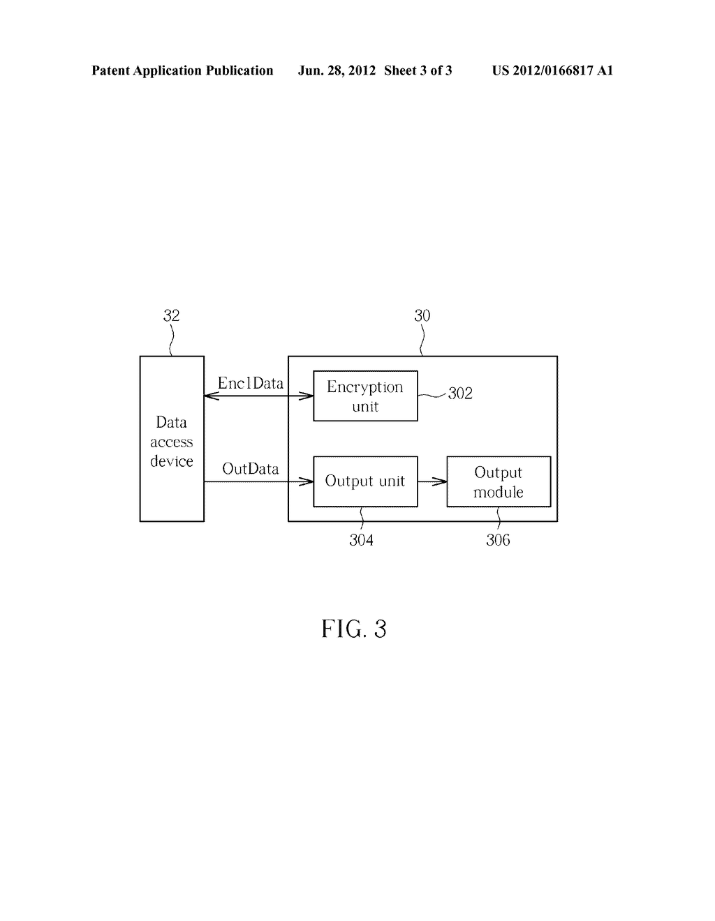 Secured Data Display Method, Data Storage Device and Encryption Chip Card - diagram, schematic, and image 04