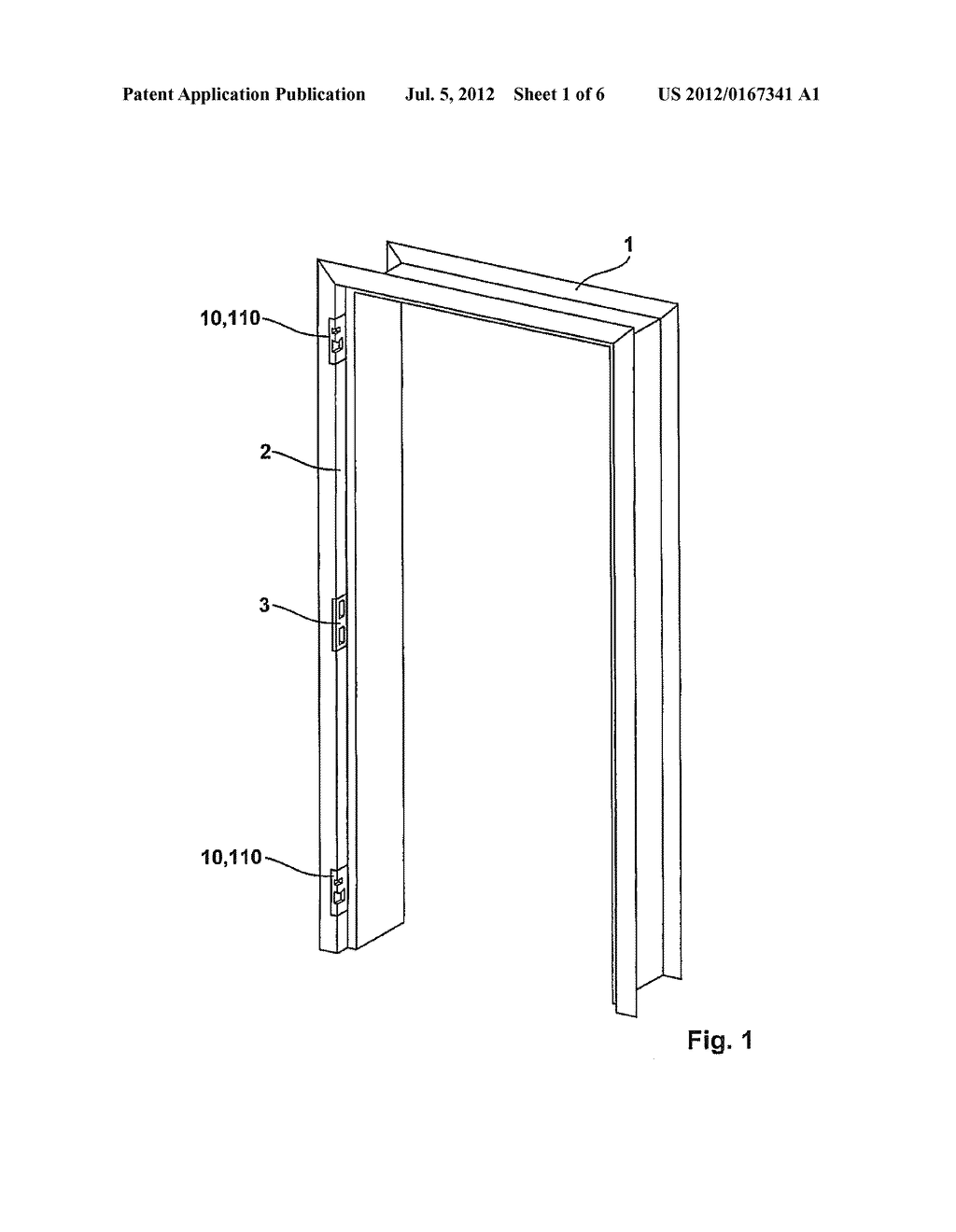 DEVICE FOR PULLING A DOOR PANEL OR A WINDOW CASEMENT TOWARD THE FRAME - diagram, schematic, and image 02