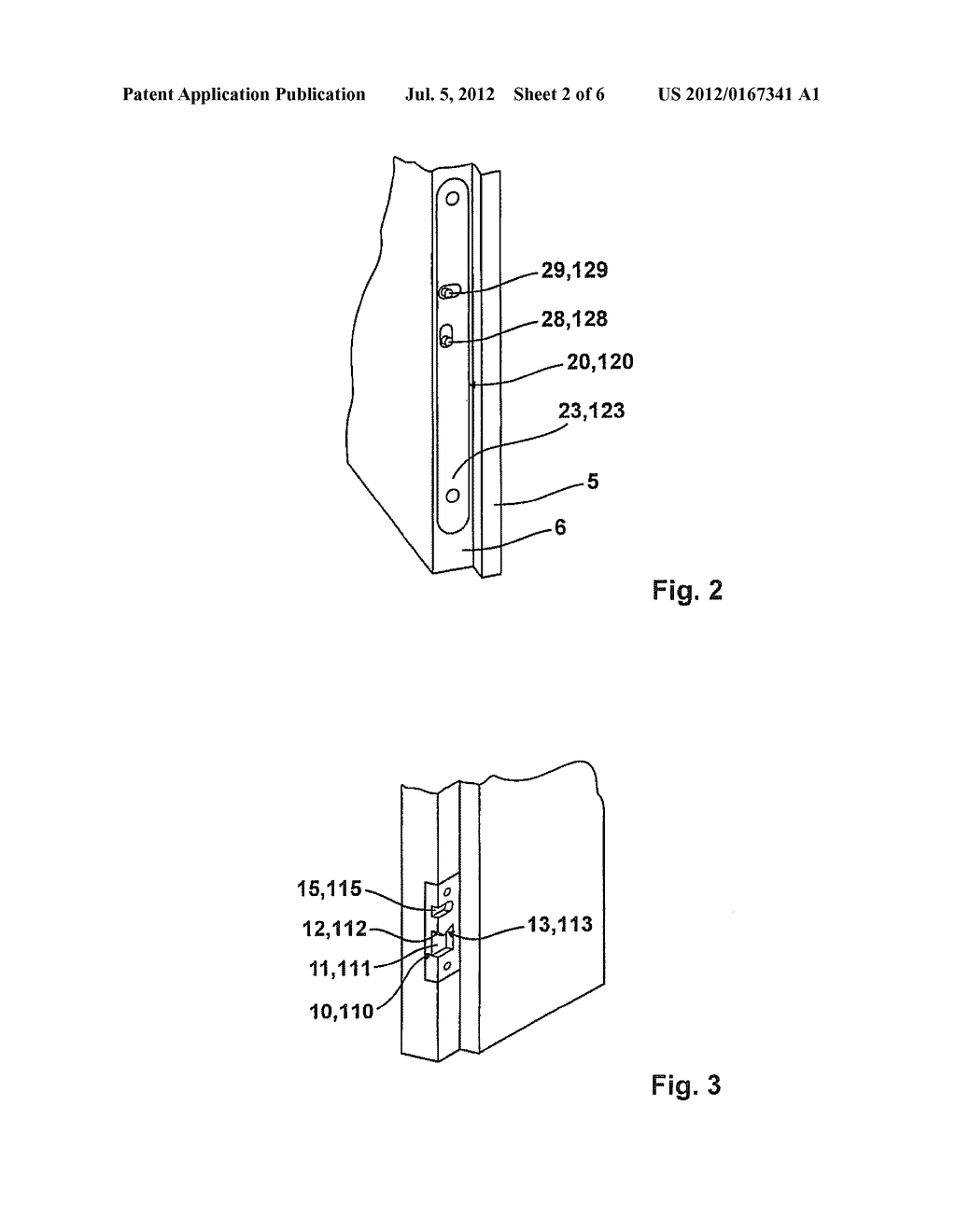 DEVICE FOR PULLING A DOOR PANEL OR A WINDOW CASEMENT TOWARD THE FRAME - diagram, schematic, and image 03