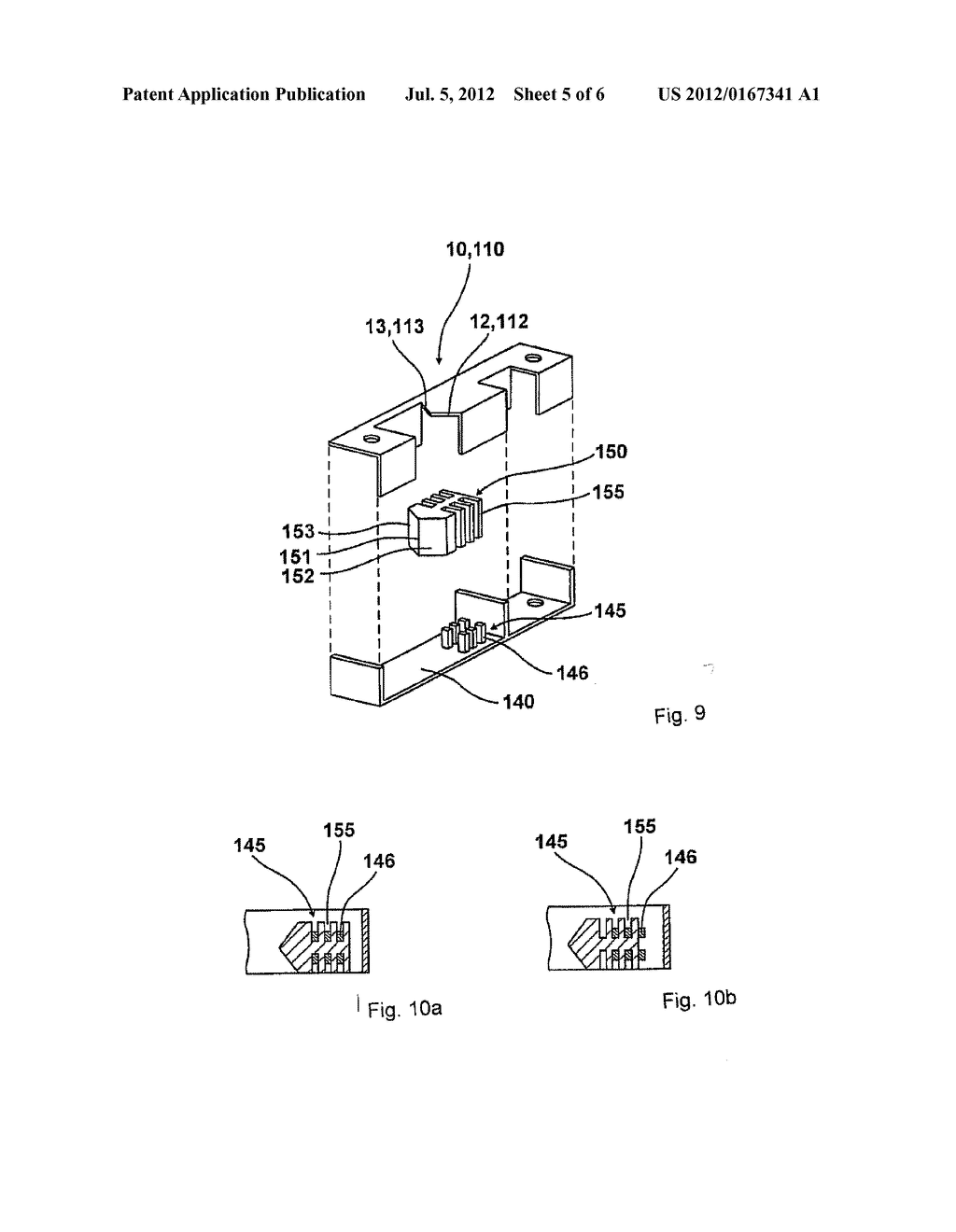 DEVICE FOR PULLING A DOOR PANEL OR A WINDOW CASEMENT TOWARD THE FRAME - diagram, schematic, and image 06