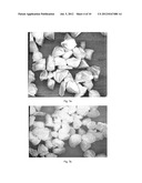 SURFACE ETCHED DIAMOND PARTICLES AND METHOD FOR ETCHING THE SURFACE OF     DIAMOND PARTICLES diagram and image