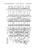 SUPPORT SYSTEM FOR AN EXHAUST AFTERTREATMENT SYSTEM FOR A LOCOMOTIVE     HAVING A TWO-STROKE LOCOMOTIVE DIESEL ENGINE diagram and image