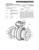 TRUNNION BALL VALVE SEAT WITH V-SECTION SPRING diagram and image
