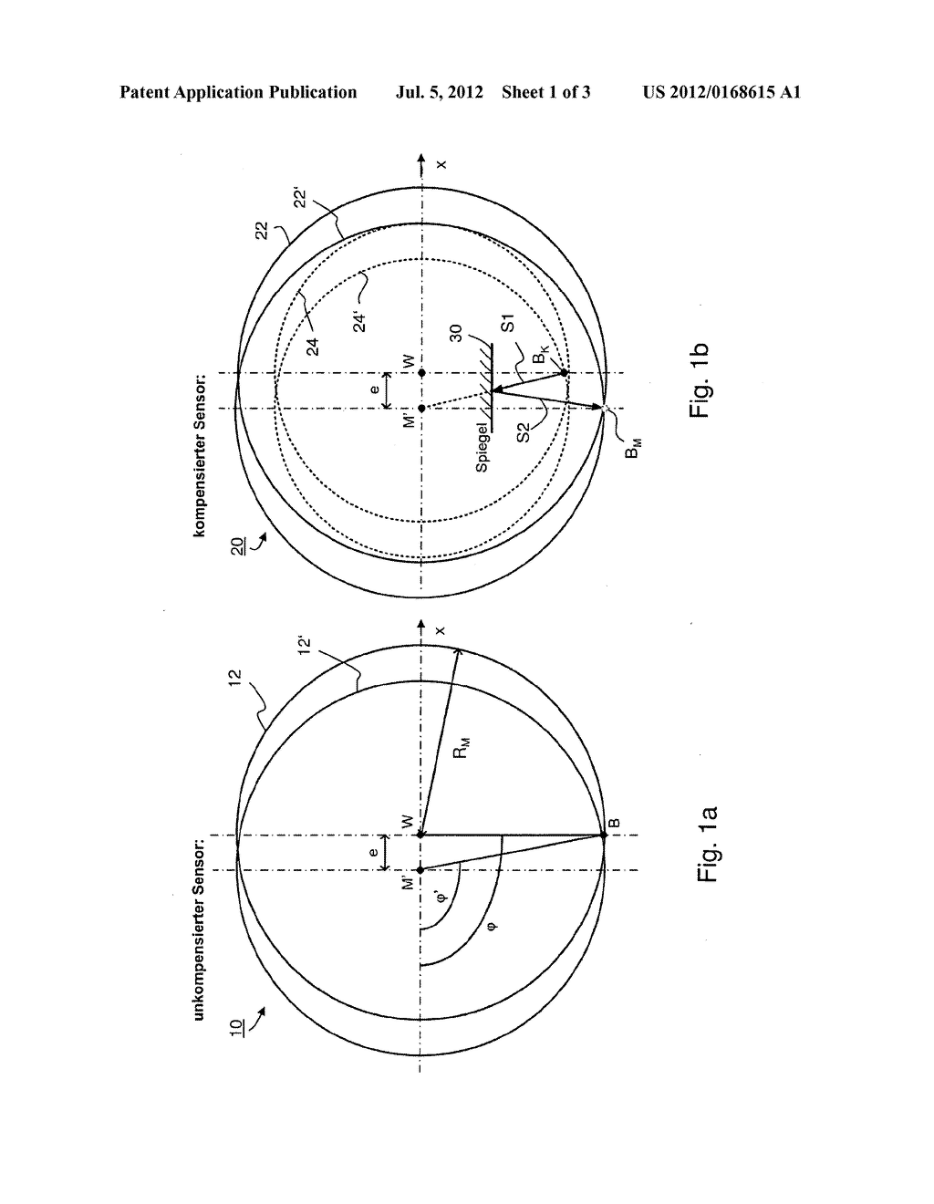 DEVICE AND METHOD FOR OPTICALLY COMPENSATING FOR THE MEASURING TRACK     DECENTRALIZATION IN ROTATION ANGLE SENSORS - diagram, schematic, and image 02