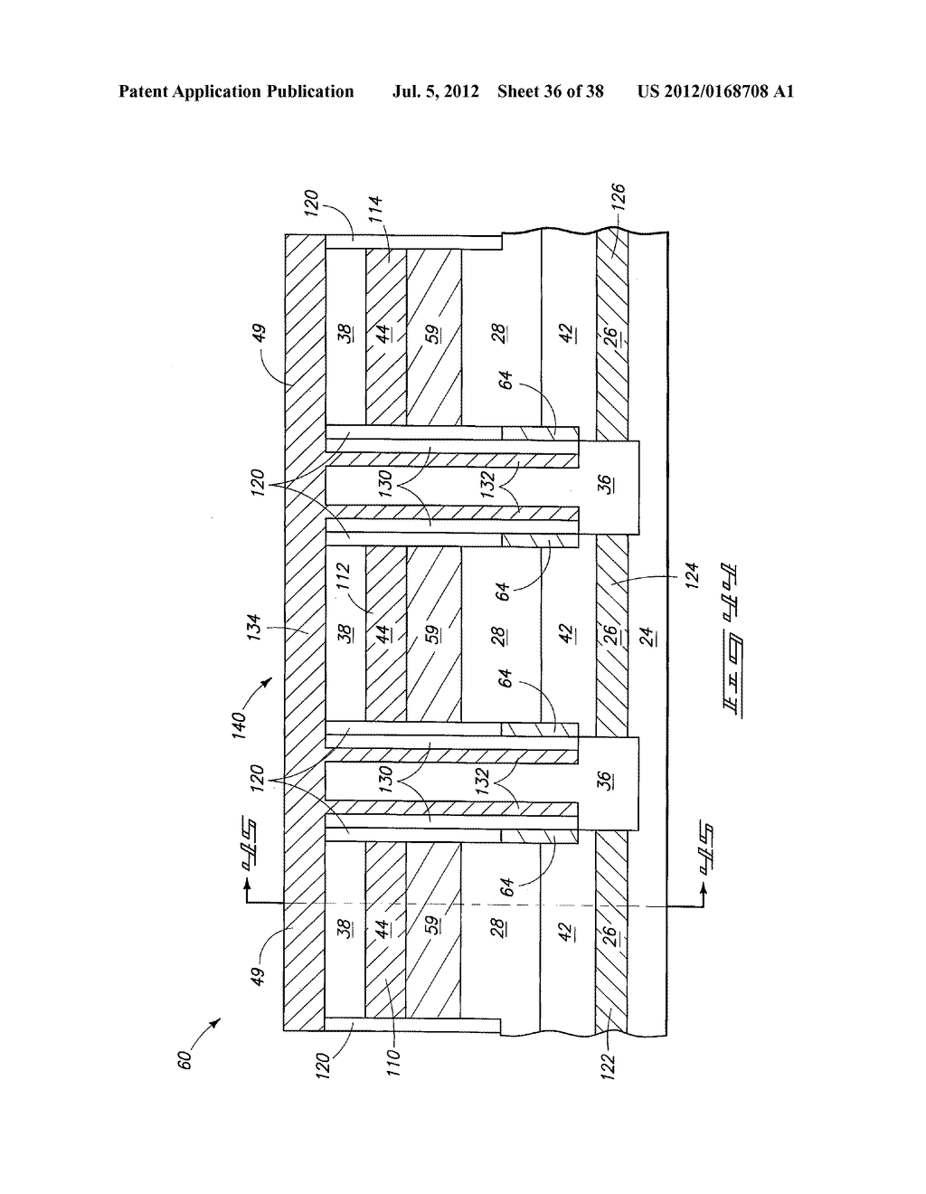 Memory Device Constructions, Memory Cell Forming Methods, and     Semiconductor Construction Forming Methods - diagram, schematic, and image 37