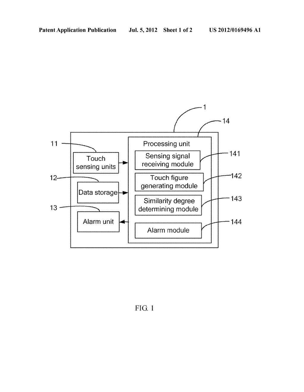 PORTABLE ELECTRONIC DEVICE WITH ANTI-THEFT FUNCTION AND ANTI-THEFT METHOD - diagram, schematic, and image 02
