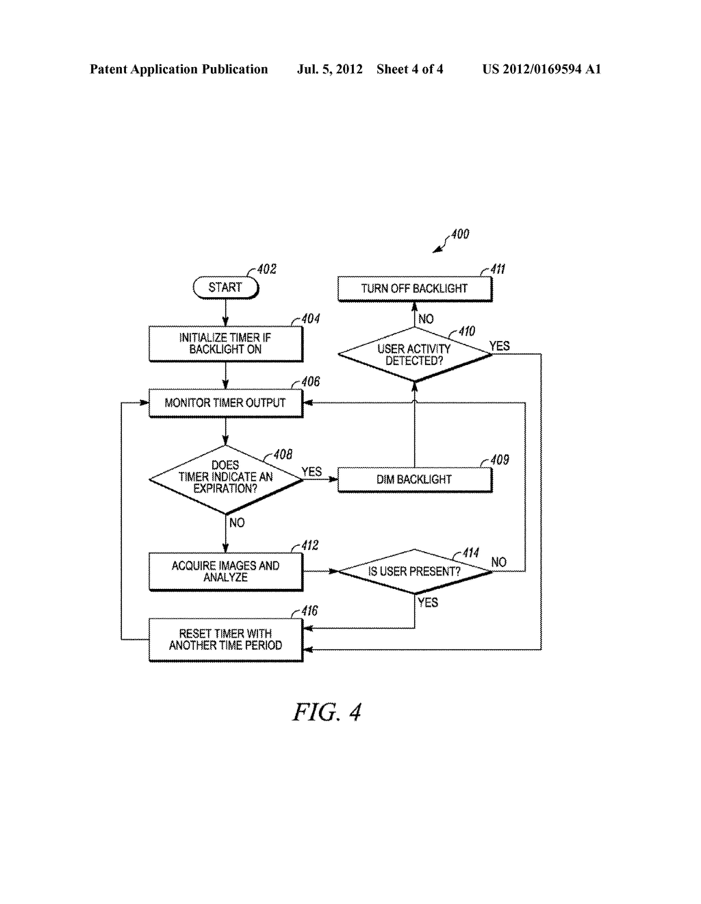 ELECTRONIC DEVICE AND METHOD FOR BACKLIGHT CONTROL - diagram, schematic, and image 05