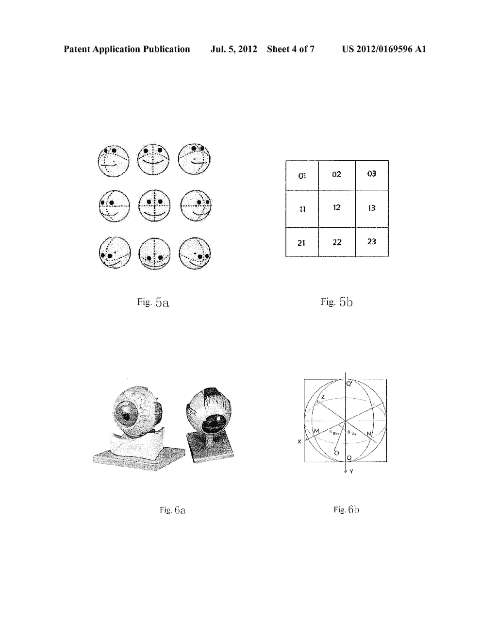 METHOD AND APPARATUS FOR DETECTING A FIXATION POINT BASED ON FACE     DETECTION AND IMAGE MEASUREMENT - diagram, schematic, and image 05