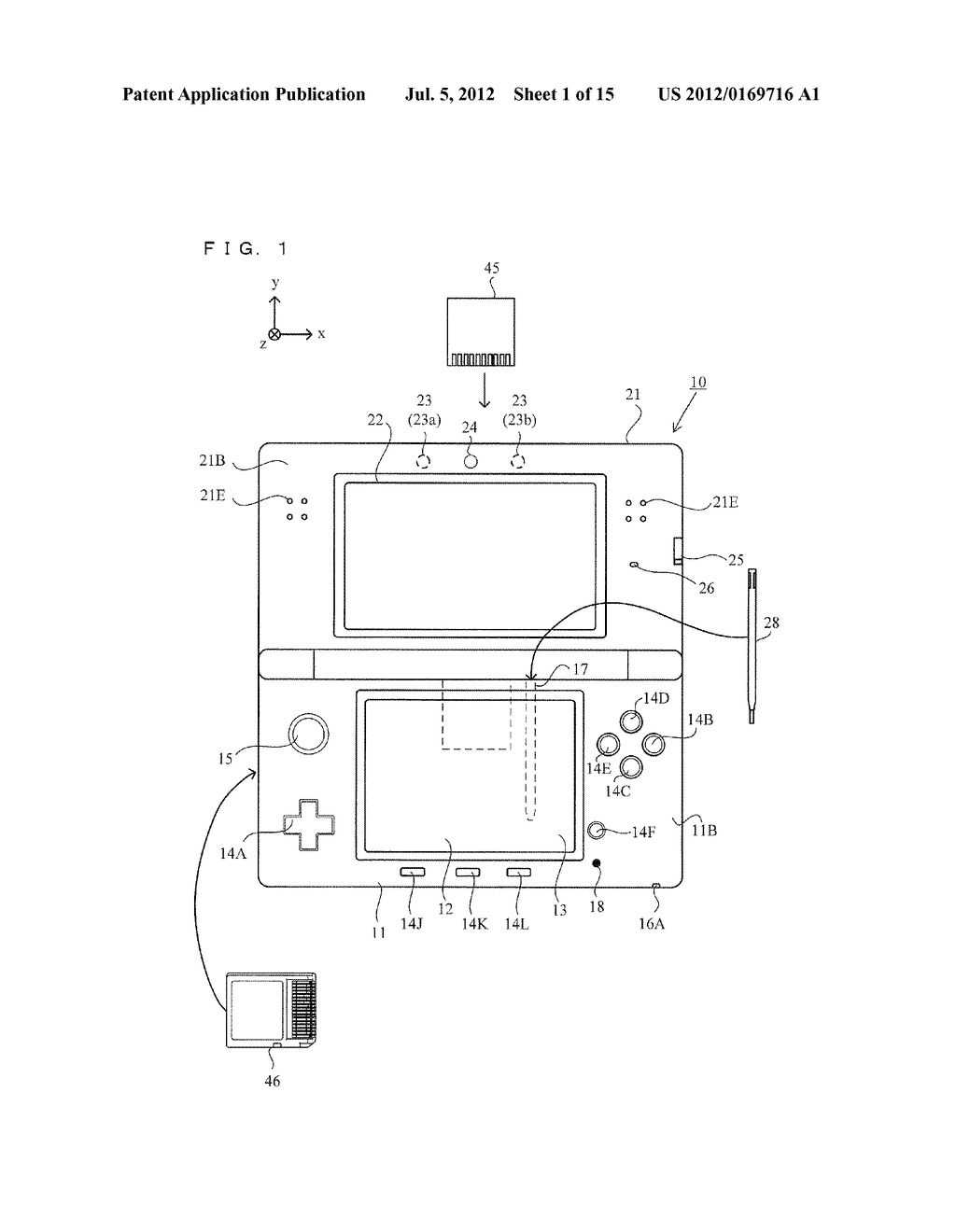 STORAGE MEDIUM HAVING STORED THEREIN A DISPLAY CONTROL PROGRAM, DISPLAY     CONTROL APPARATUS, DISPLAY CONTROL SYSTEM, AND DISPLAY CONTROL METHOD - diagram, schematic, and image 02