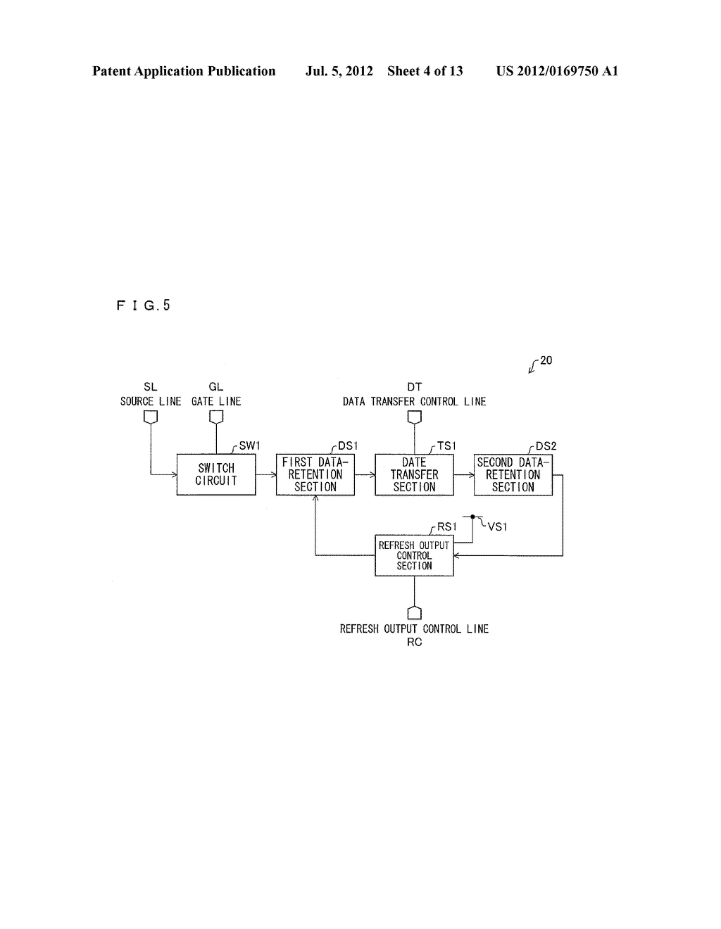 DISPLAY DEVICE AND DRIVE METHOD FOR DISPLAY DEVICE - diagram, schematic, and image 05