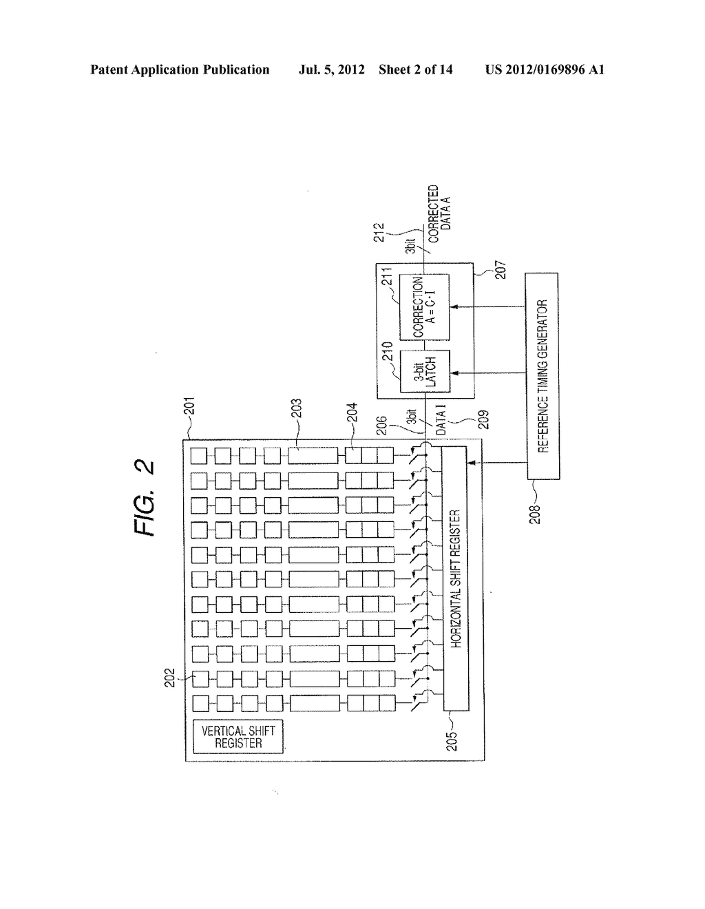 IMAGE PICKUP DEVICE AND SIGNAL PROCESSING METHOD THEREOF - diagram, schematic, and image 03