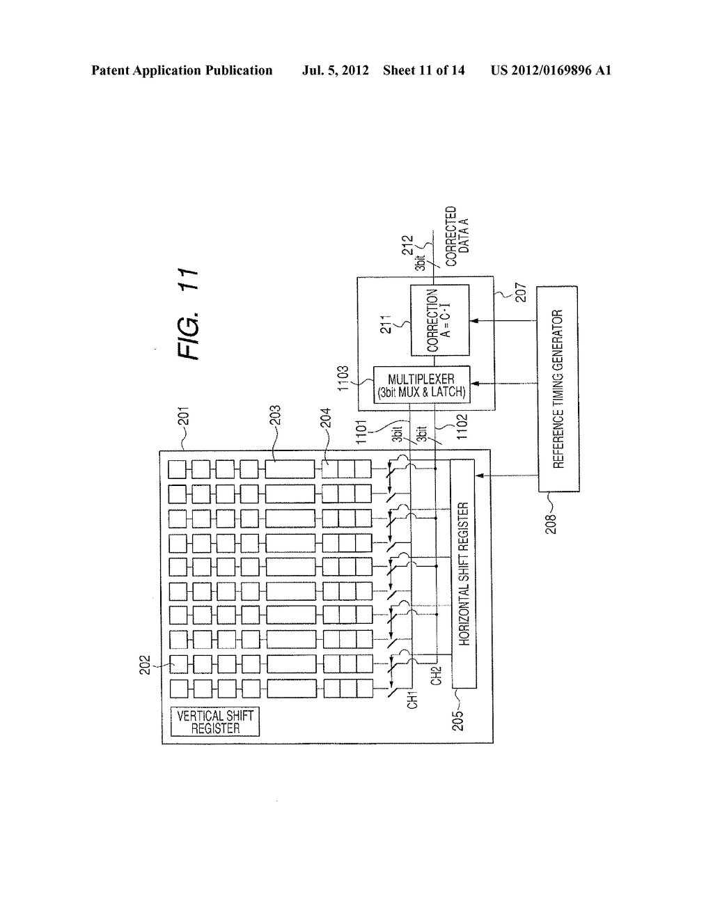 IMAGE PICKUP DEVICE AND SIGNAL PROCESSING METHOD THEREOF - diagram, schematic, and image 12