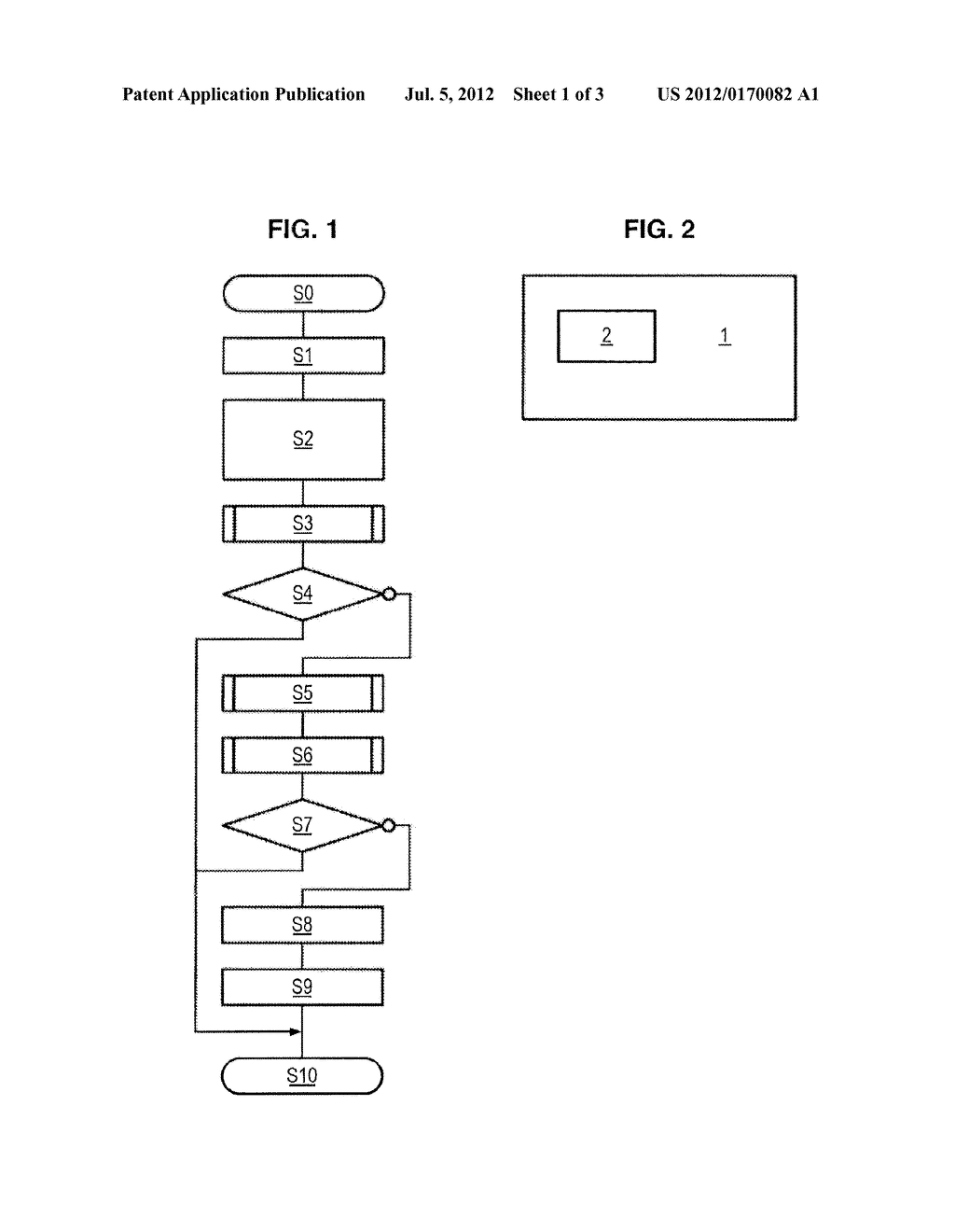 METHOD FOR DETECTING BLANK PAGES, AND CORRESPONDING MULTIFUNCTIONAL     MACHINE - diagram, schematic, and image 02