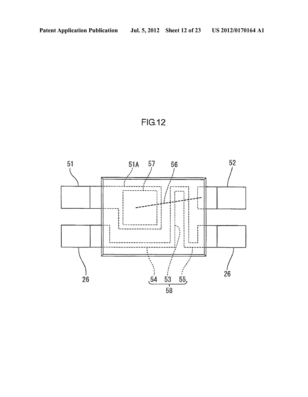 OVERCURRENT CUTOFF DEVICE, AND OVERCURRENT DETECTING ELEMENT TO BE USED IN     OVERCURRENT CUTOFF DEVICE - diagram, schematic, and image 13