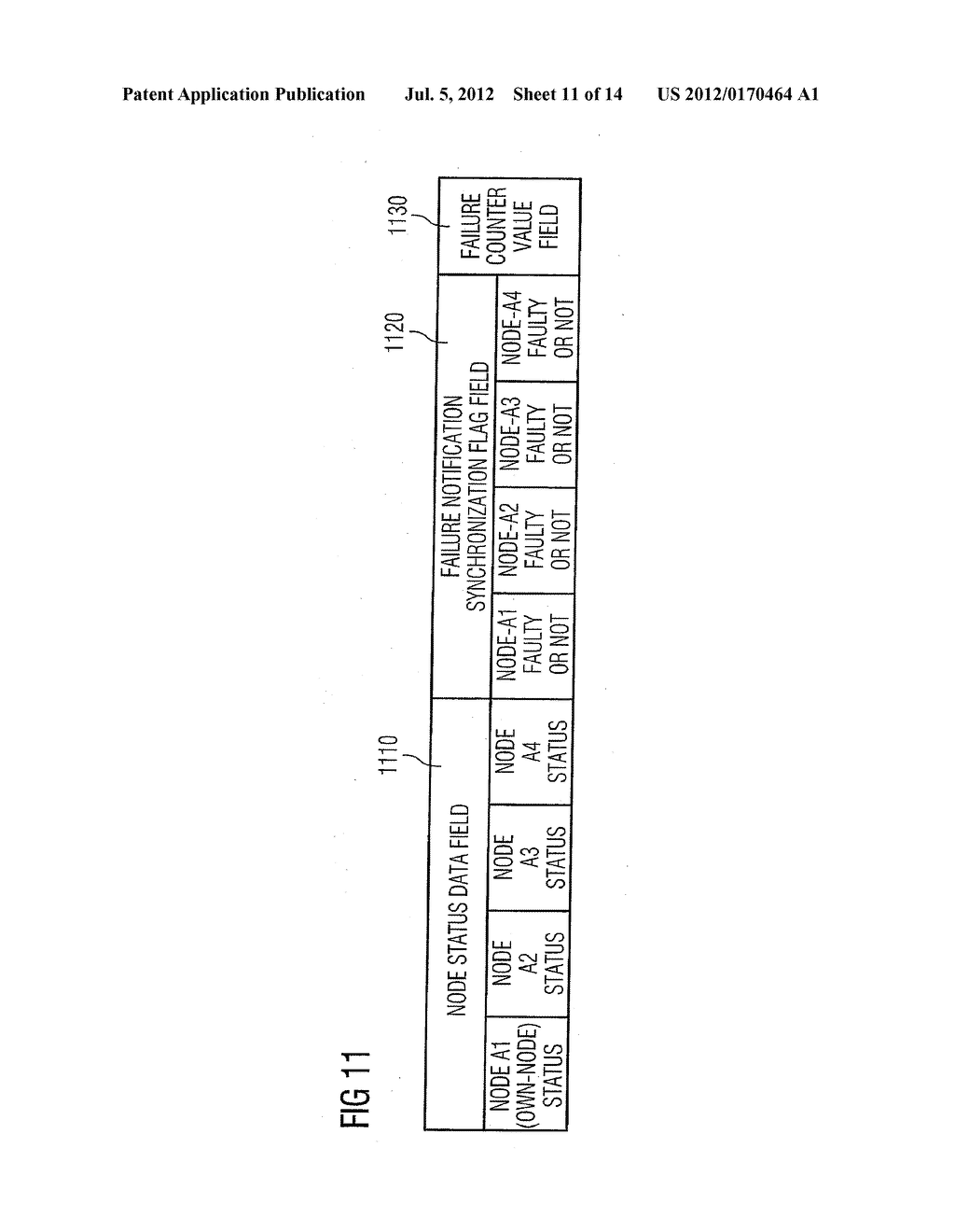 Method and Apparatus for Monitoring a Status of Nodes of a Communication     Network - diagram, schematic, and image 12