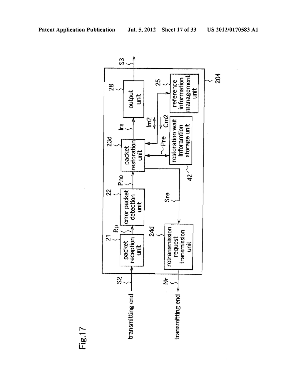 DATA TRANSMISSION METHOD, DATA TRANSMISSION APPARATUS, DATA RECEPTION     APPARATUS, AND PACKET DATA STRUCTURE - diagram, schematic, and image 18