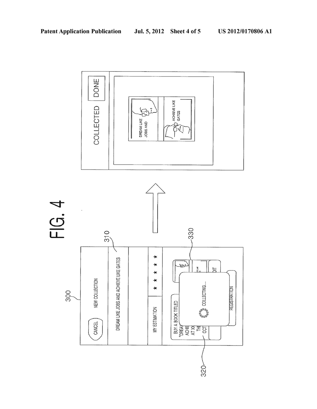 METHOD, TERMINAL, AND COMPUTER-READABLE RECORDING MEDIUM FOR SUPPORTING     COLLECTION OF OBJECT INCLUDED IN INPUTTED IMAGE - diagram, schematic, and image 05
