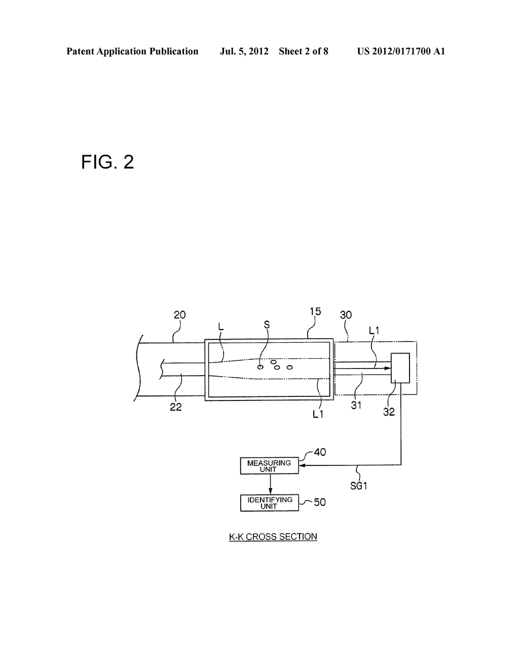 CELL IDENTIFYING APPARATUS AND CELL IDENTIFYING METHOD - diagram, schematic, and image 03