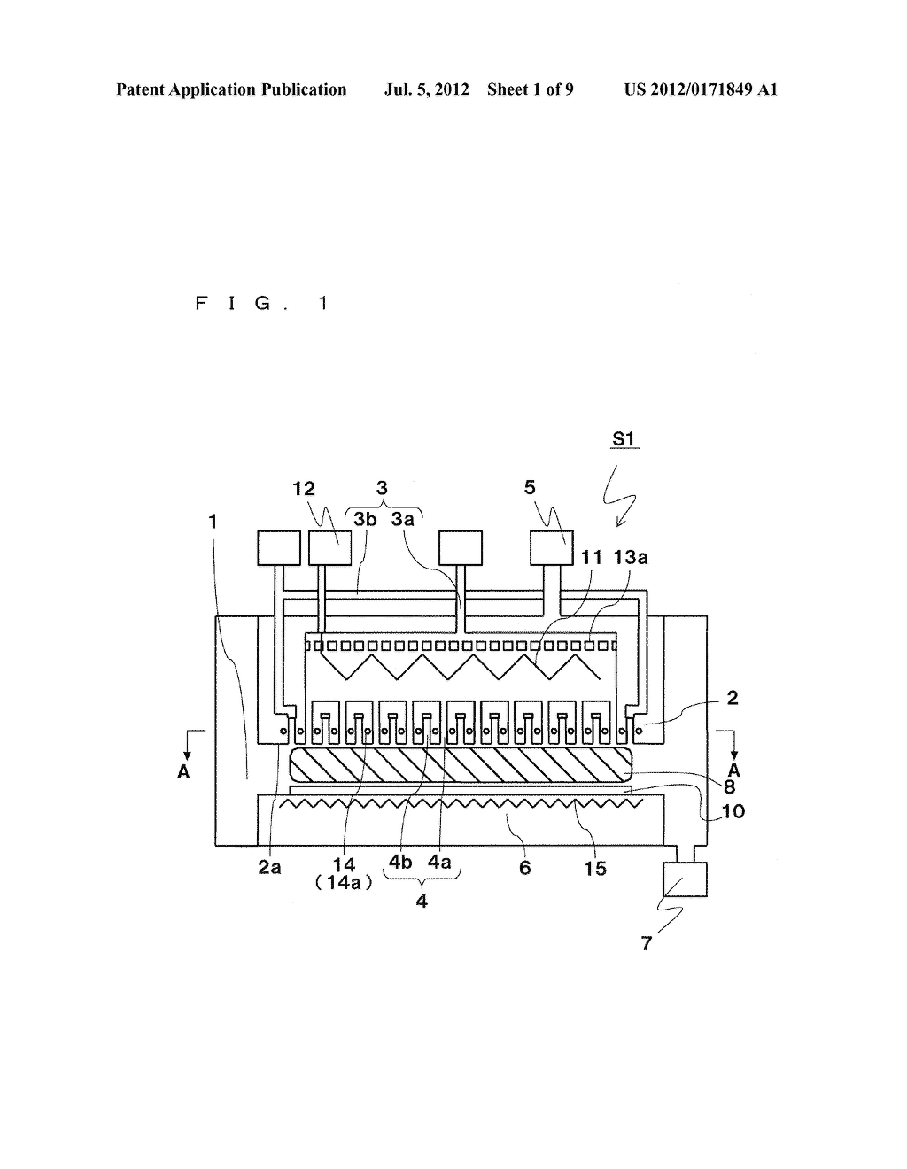 APPARATUS FOR FORMING DEPOSITED FILM AND METHOD FOR FORMING DEPOSITED FILM - diagram, schematic, and image 02