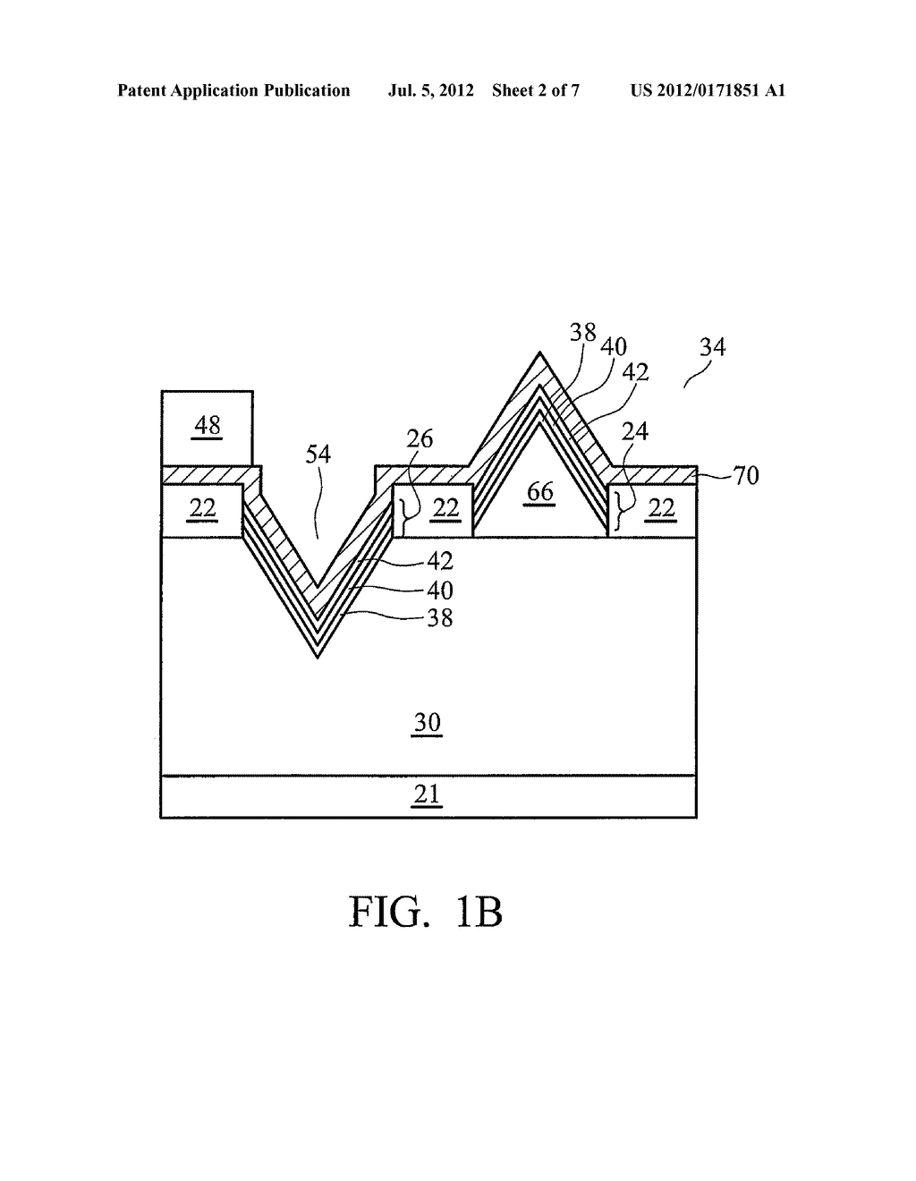 Patterned Substrate for Hetero-epitaxial Growth of Group-III Nitride Film - diagram, schematic, and image 03