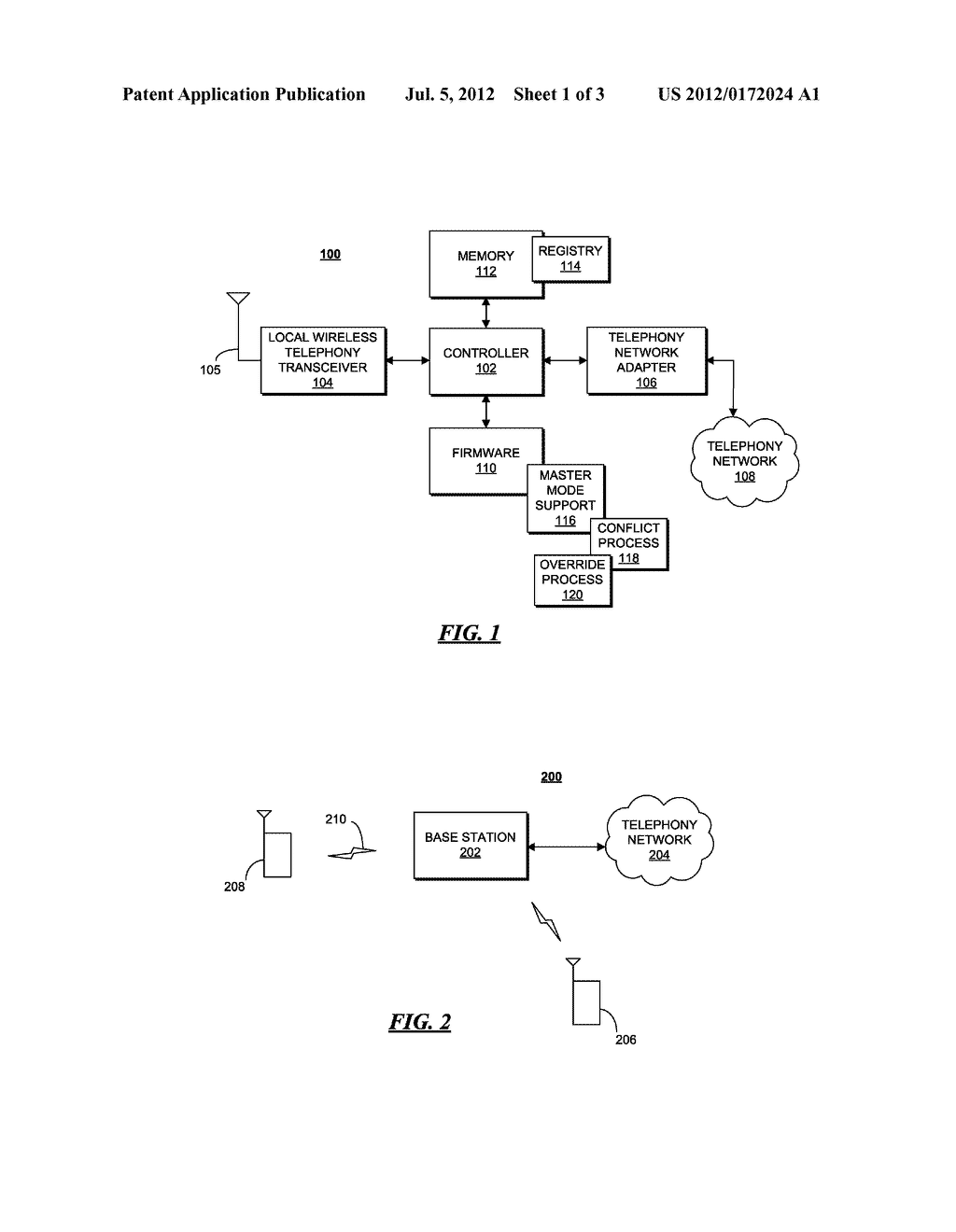 METHOD AND APPARATUS FOR CONTROLLING DE-SUBSCRIPTION OF A MASTER DEVICE AT     A BASE STATION - diagram, schematic, and image 02