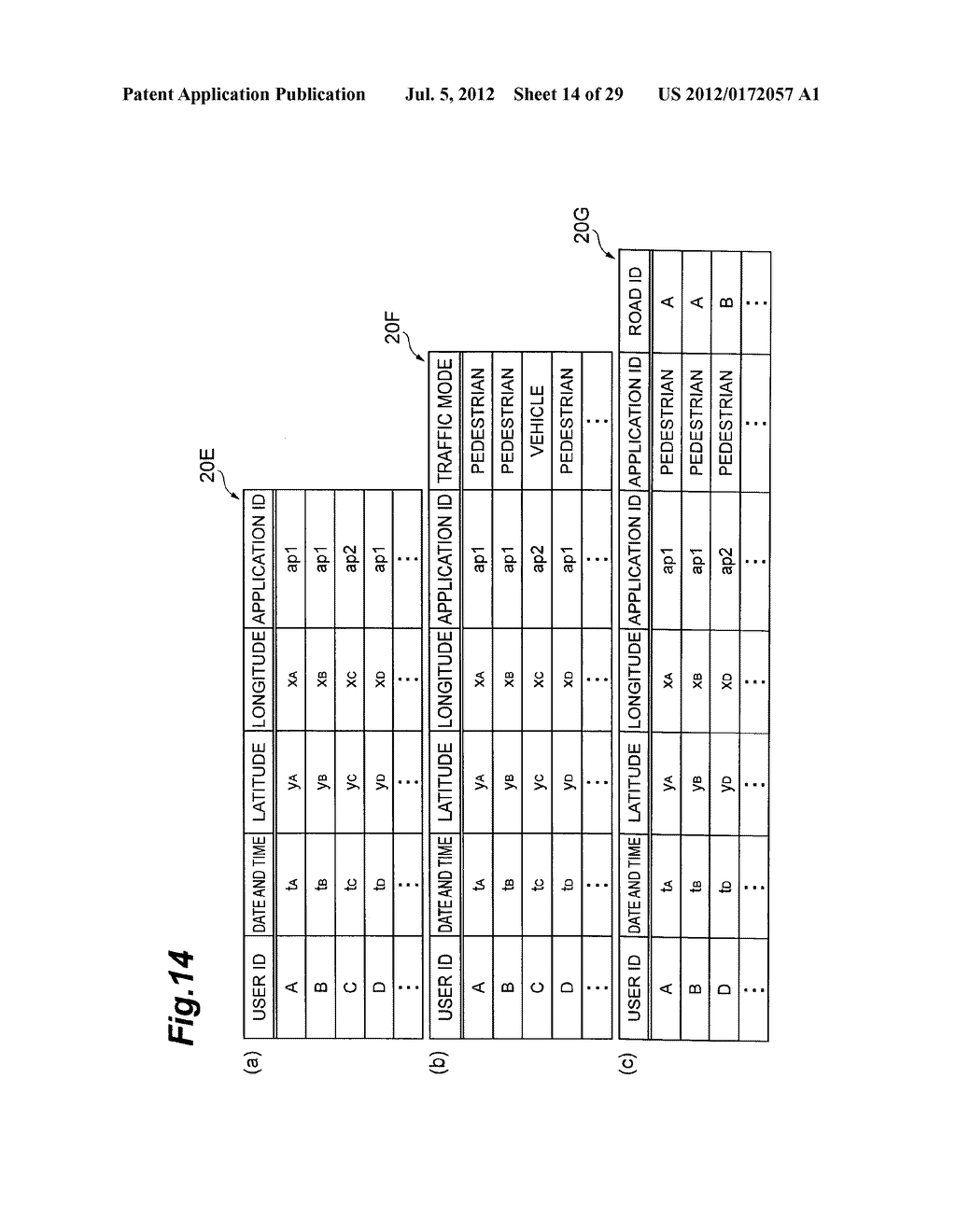 ROADSIDE PORTION TRAFFIC AMOUNT CALCULATION DEVICE AND ROADSIDE PORTION     TRAFFIC AMOUNT CALCULATION METHOD - diagram, schematic, and image 15