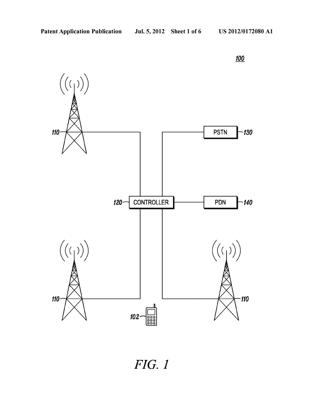 POWER CONTROL IN SCHEDULABLE WIRELESS COMMUNICATION TERMINAL - diagram, schematic, and image 02