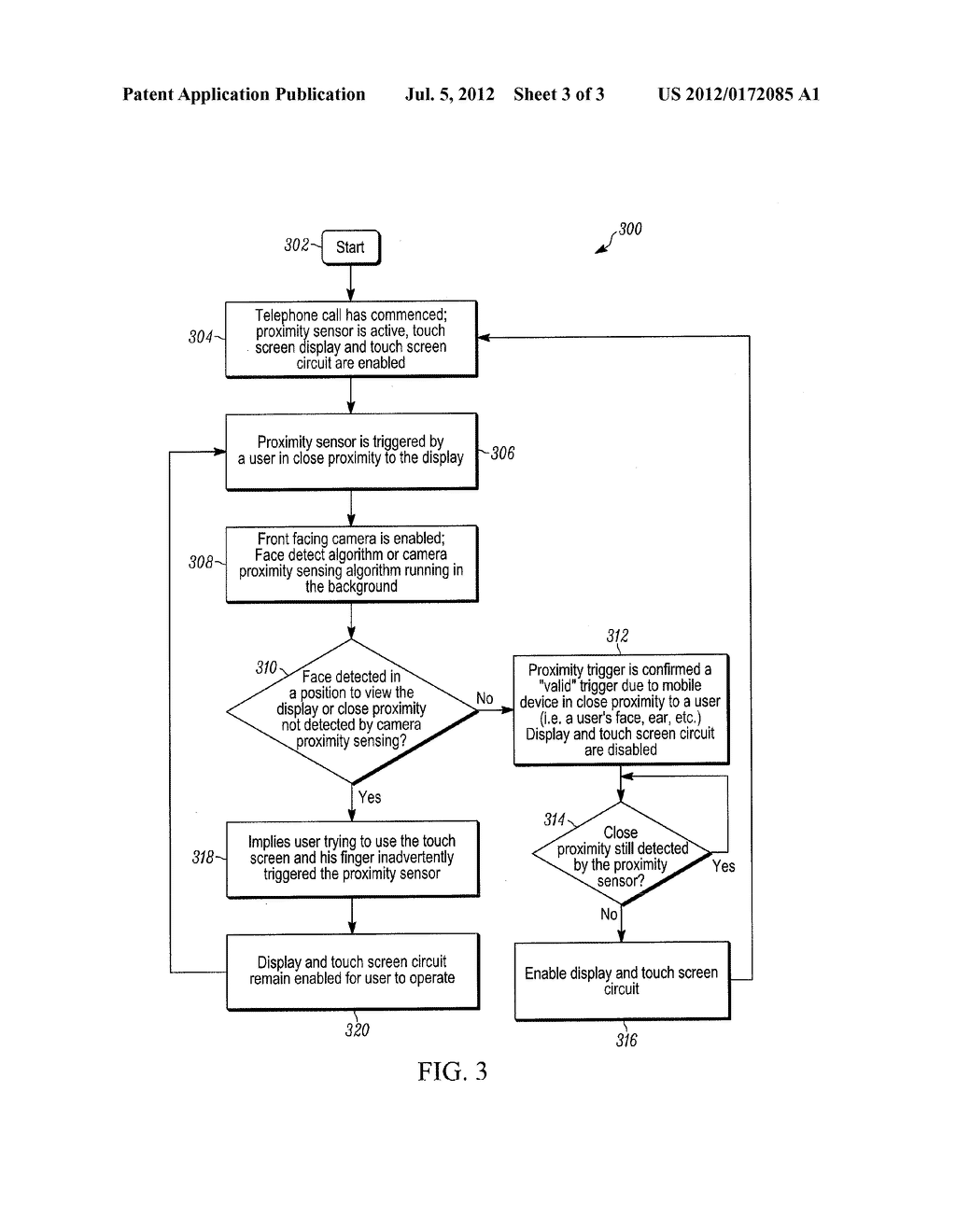 MOBILE DEVICE AND METHOD FOR PROXIMITY DETECTION VERIFICATION - diagram, schematic, and image 04