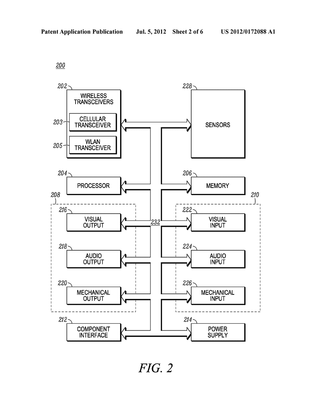 Method and System for Adapting Mobile Device to Accommodate External     Display - diagram, schematic, and image 03