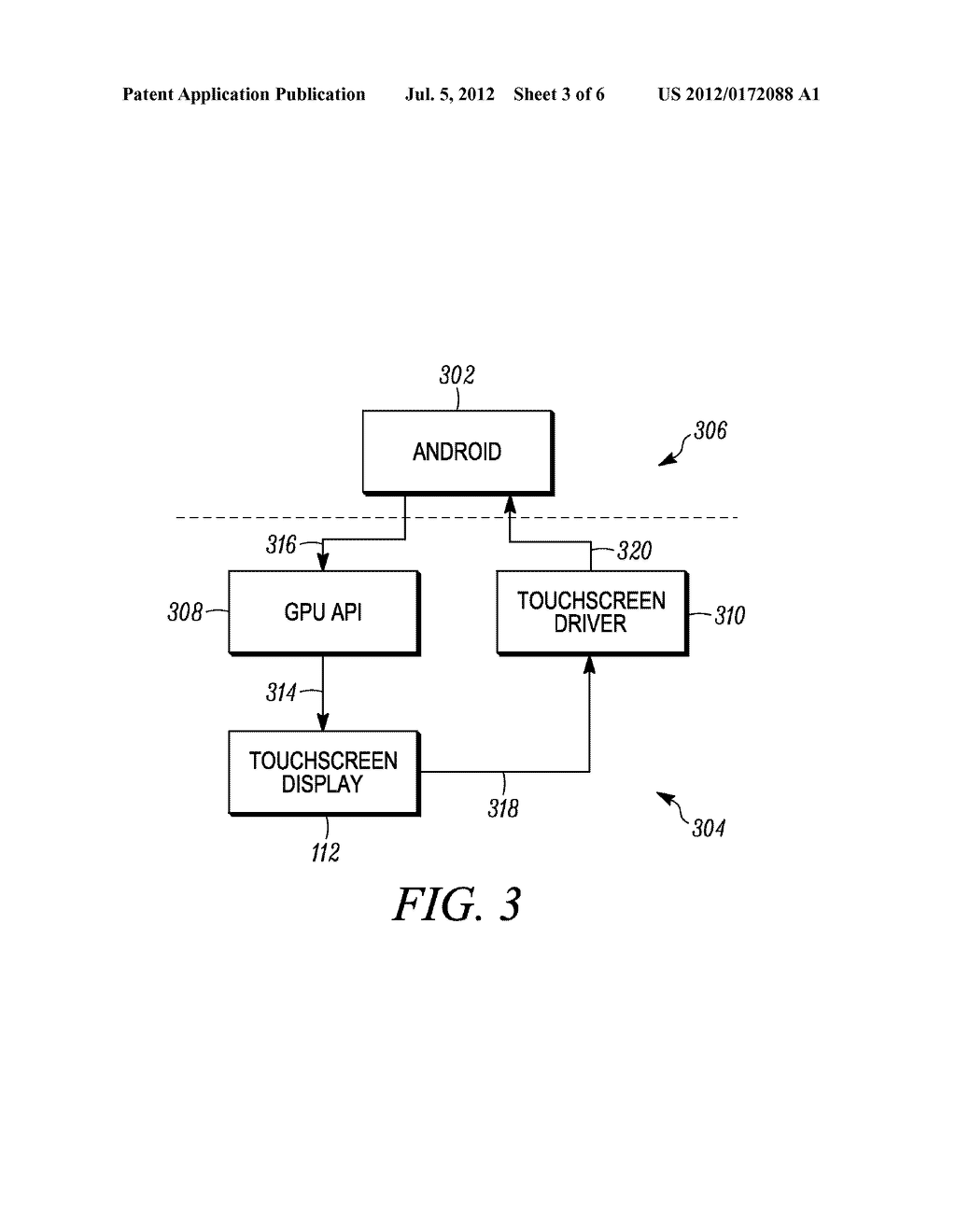 Method and System for Adapting Mobile Device to Accommodate External     Display - diagram, schematic, and image 04