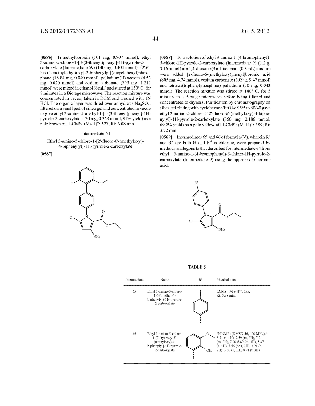PYRROLO-PYRIDINE DERIVATIVES AS ACTIVATORS OF AMPK - diagram, schematic, and image 45