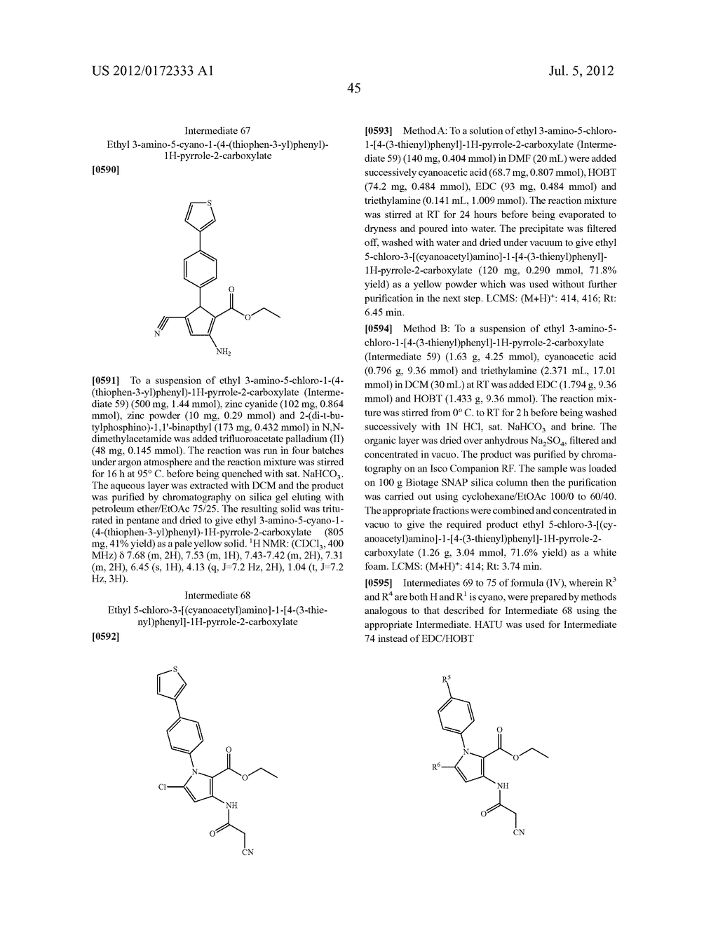 PYRROLO-PYRIDINE DERIVATIVES AS ACTIVATORS OF AMPK - diagram, schematic, and image 46