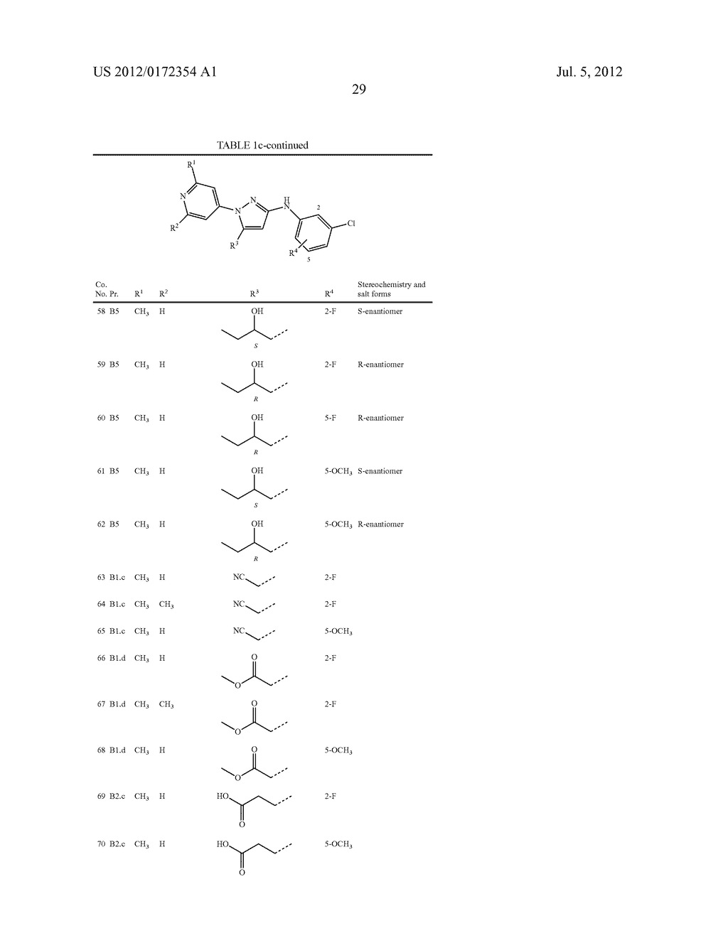 Substituted N-Phenyl-1-(4-Pyridinyl)-1H-Pyrazol-3-Amines - diagram, schematic, and image 30
