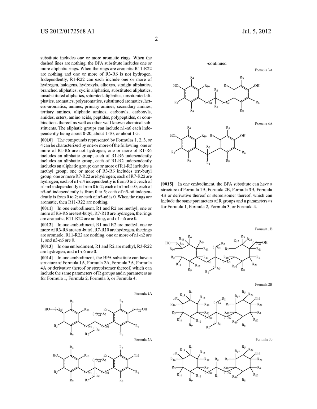 SUBSTANCES FOR USE AS BISPHENOL A SUBSTITUTES - diagram, schematic, and image 04
